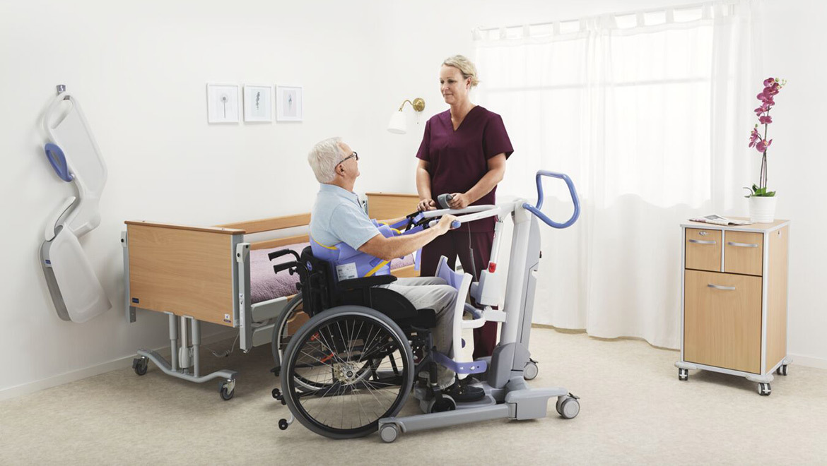 Promoting mobility among patients and residents in care facilities is critical for healthy daily lives.