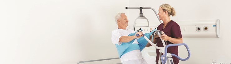Arjo early mobilisation Sara Flex patient lying back 2135 x 600.jpg